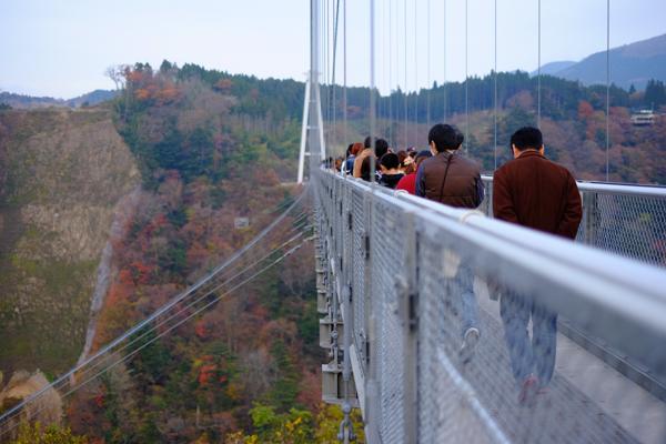 塚原の里・九重夢大吊橋・中津からあげもり山
