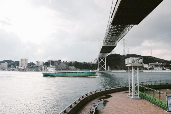 関門トンネル人道・キッチンポレポレ・焼きカレー・汽笛ドーナツ・門司港レトロ