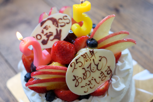 デザインATOZ 25周年・西洋菓子ちからや