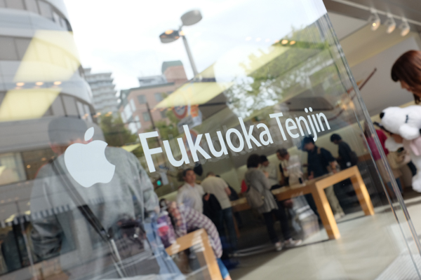 Apple Fukuoka Tenjin・iPhone 6s Plus・一蘭