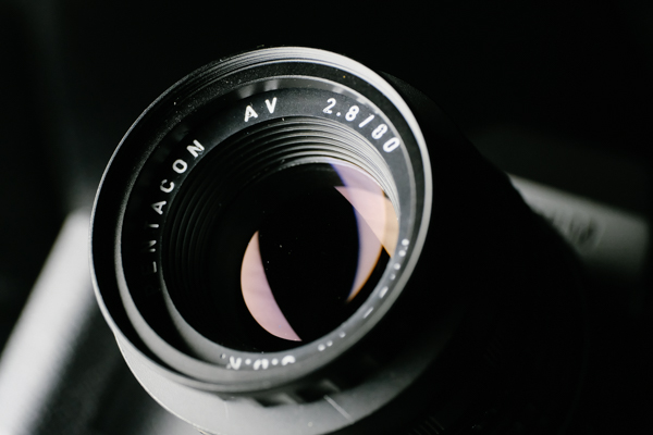 Pentacon AV(Meyer-Optik Diaplan) 80mm F2.8