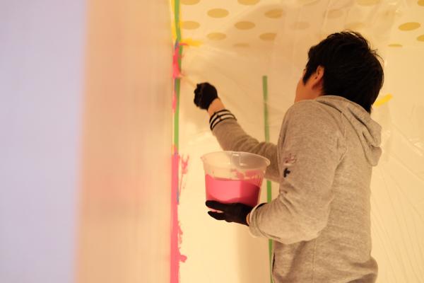 住宅デザイン・子供部屋のペイント・旬彩中華松の樹