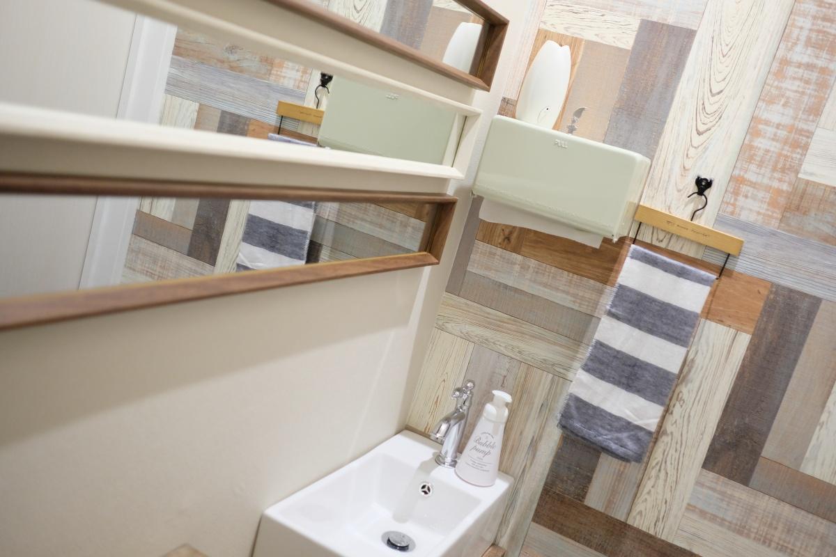 ATOZスタッフ増員によりトイレがもうひとつ増えました