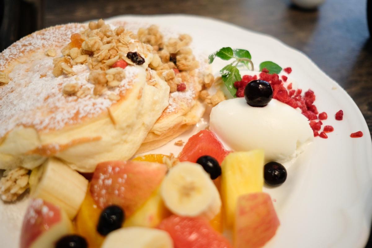 女子力アップなパンケーキはCafe del SOL!!
