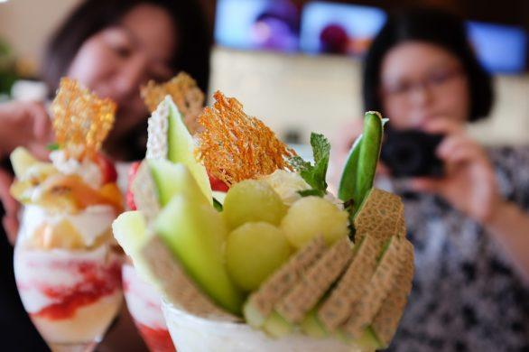 果物屋がプロデュース!Fruit Factory Mooon!! 豪華フルーツパフェで女子力アップ!