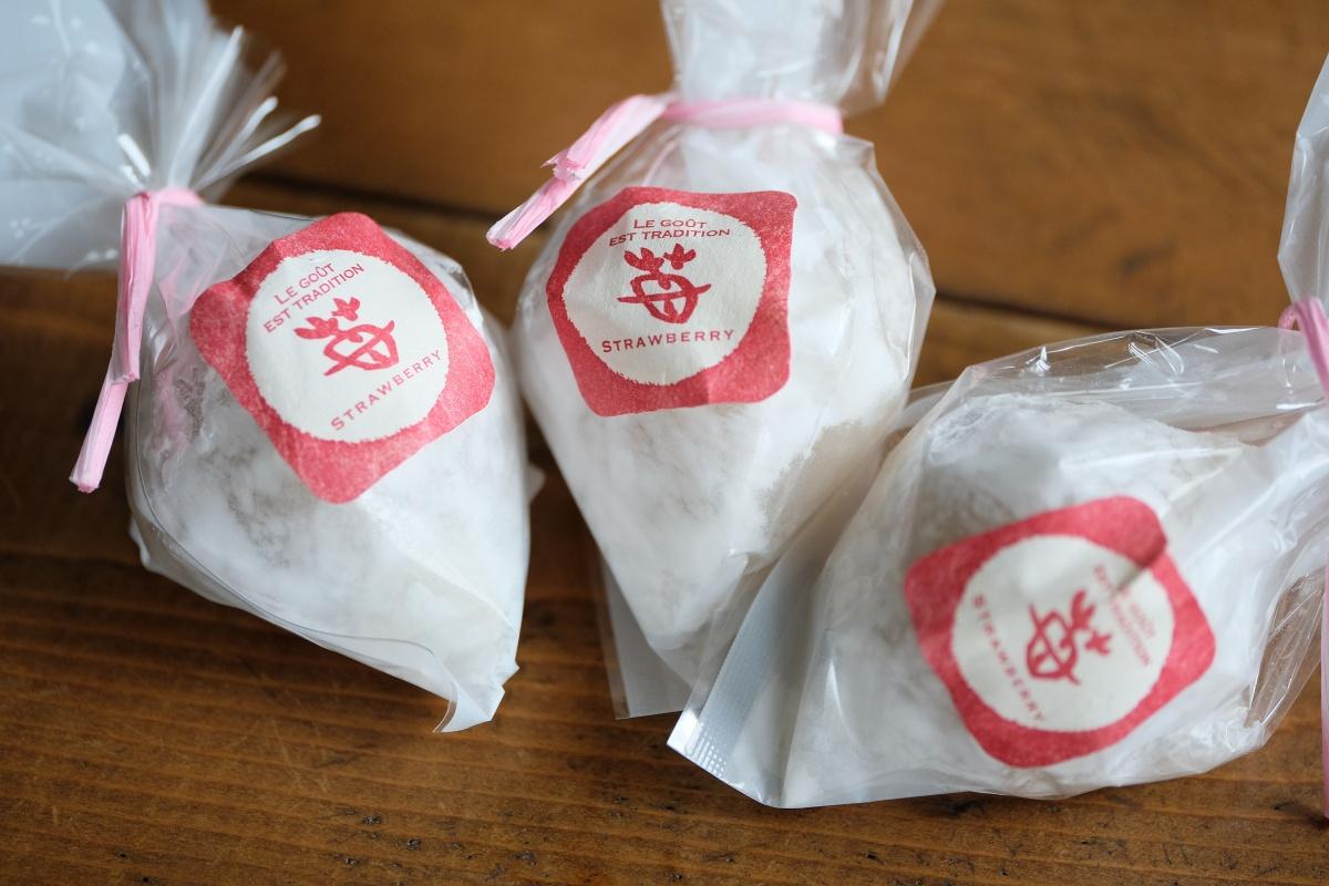 シューロールで有名な厚狭の「厚狭自然菓子トロアメゾン」と「山口心和菓子 三つ舎(みつや)」