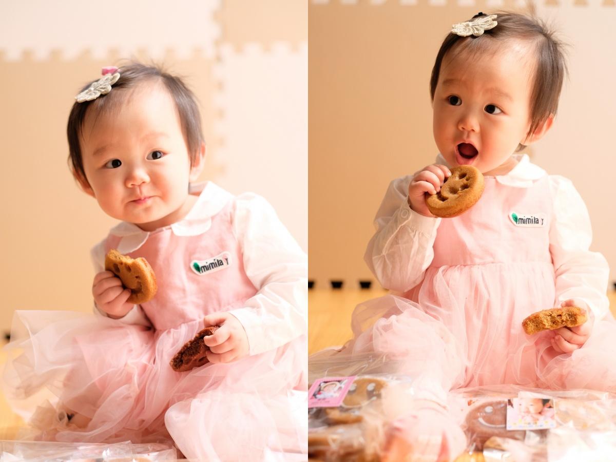 一歳のお誕生日は「一升ほほえみ」姫ちゃんが一生微笑んで暮らせますように!