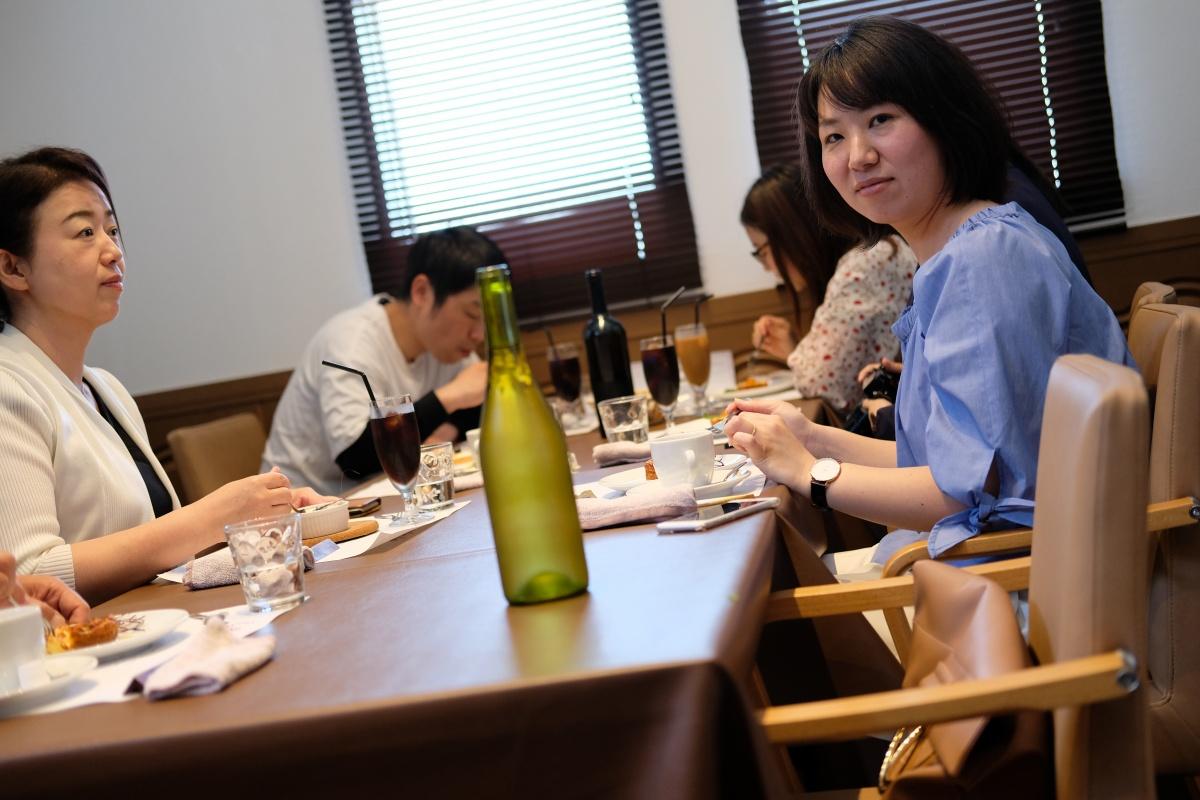 山本オーナーシェフ夫妻とフランス料理でランチタイム!