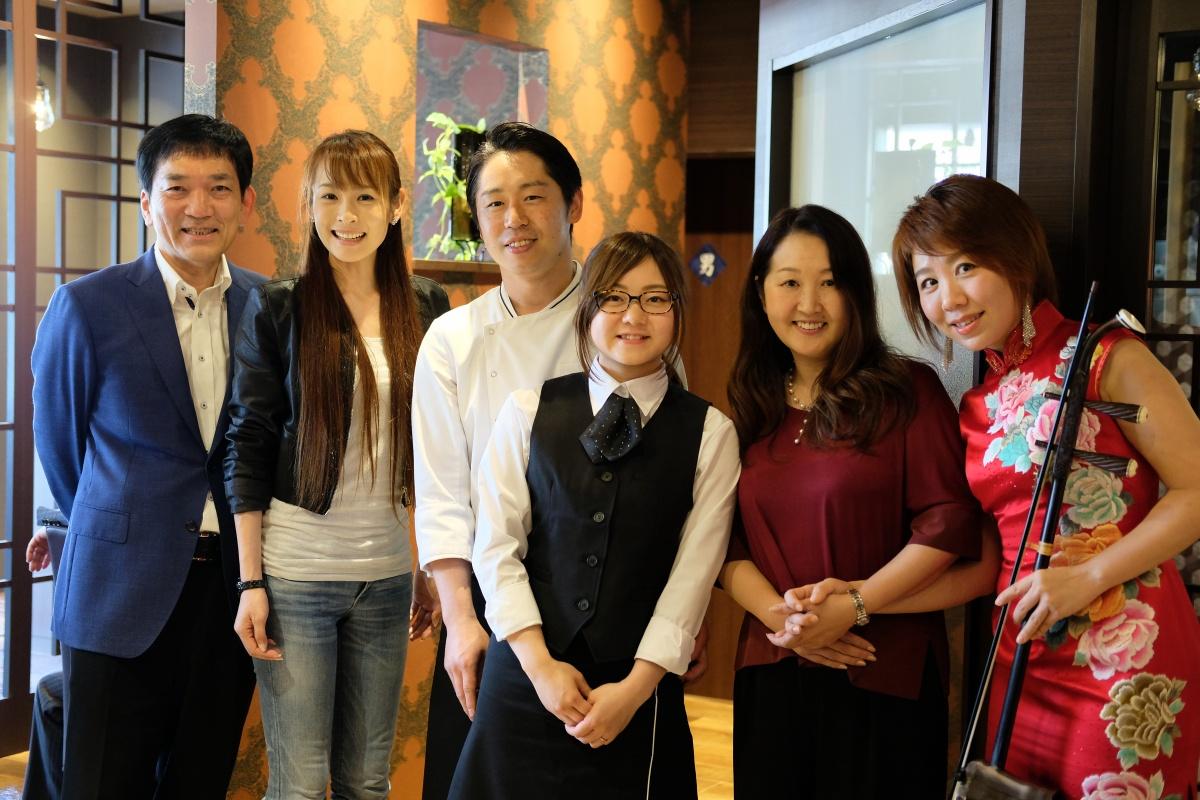 豪華メンバーが集まる「Chinese Kitchen 貴」レセプション!いよいよ6月1日オープンです!