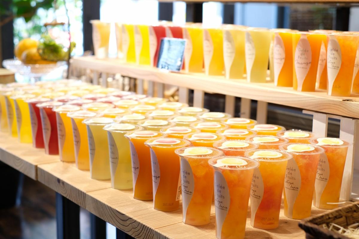 小野田グランシャリオの夏は彩り豊かなゼリーが勢揃い!