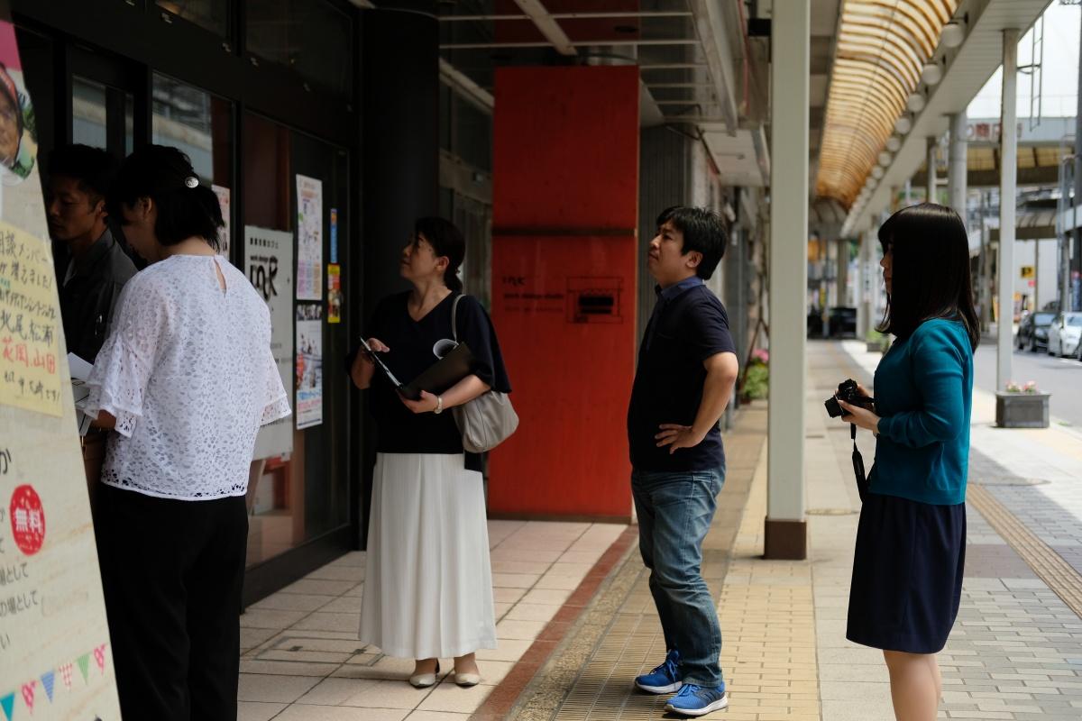 唐戸商店街に開設する創業支援カフェ「KARASTA.」(カラスタ/7月1日グランドオープン)