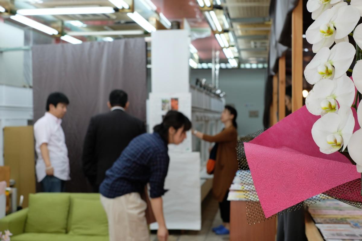 Facebookでよく見る方と唐戸商店街に開設する創業支援カフェ「KARASTA.」でつながった!