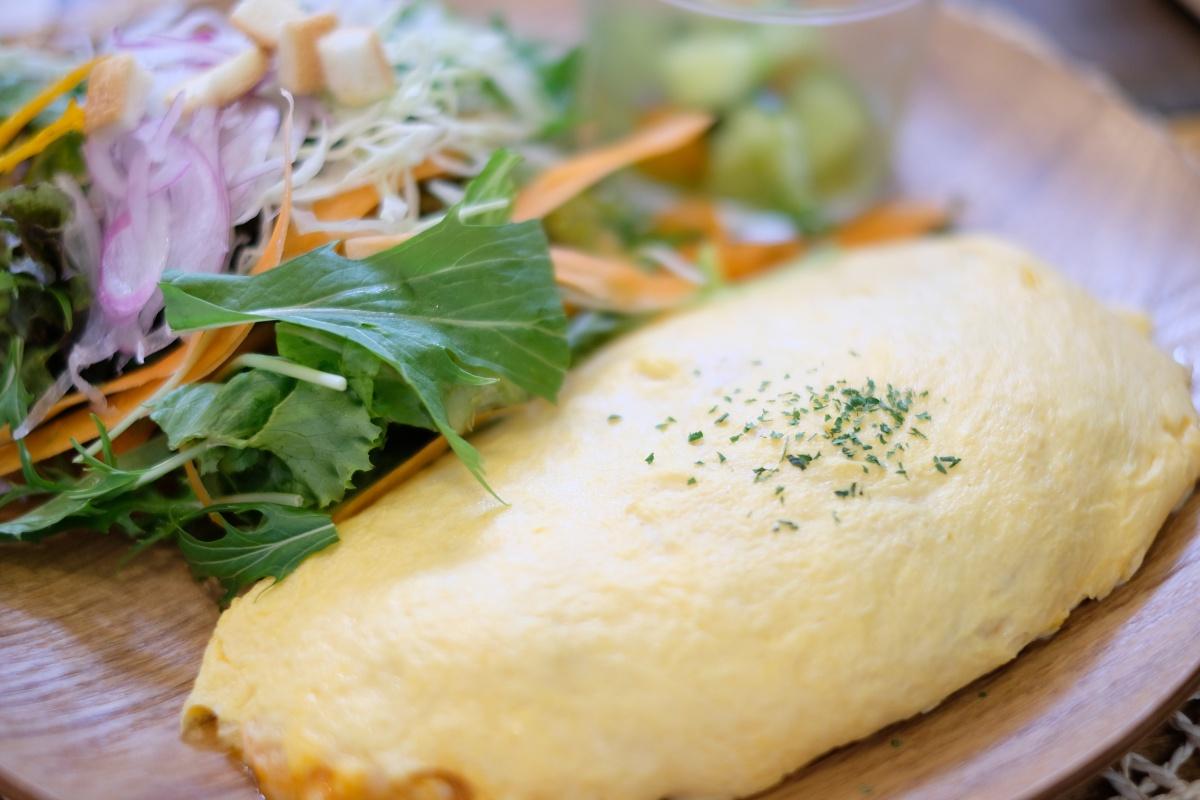 出雲ファームのこだわり米たまごを使用した人気のエッグカフェで汗をかく!