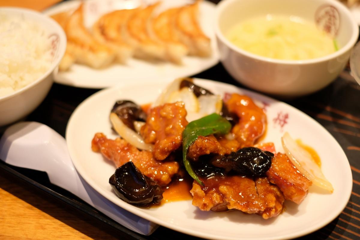 餃子専門店の心意気大阪王将は美味いんだけどカラダが疲れる
