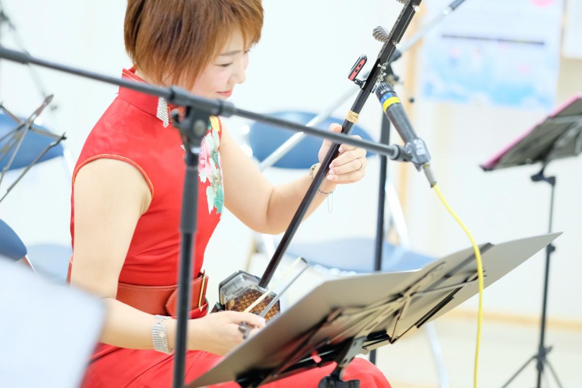 関門医療センターで中国伝統楽器「二胡の調べ」王丹二胡コンサート開催!
