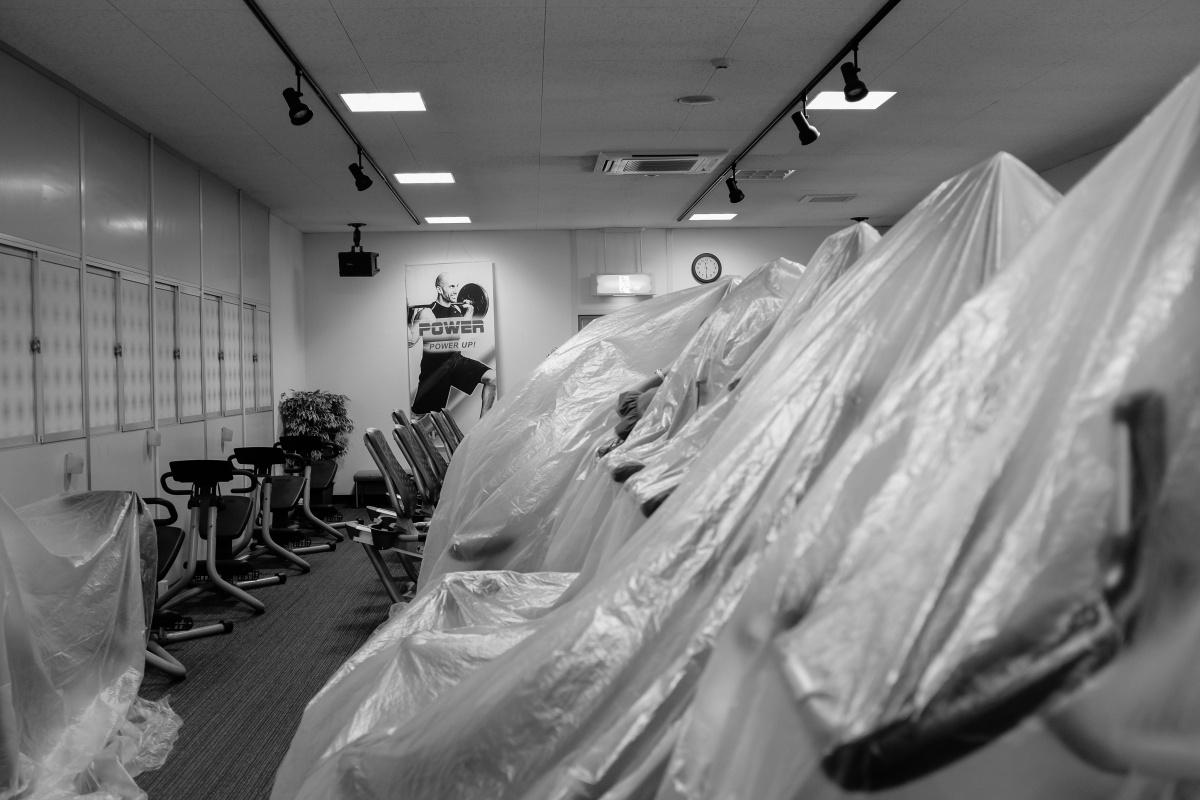 本工事前のプチ工事スタート!SSSスポーツプラザ宇部店が大きく変わります!