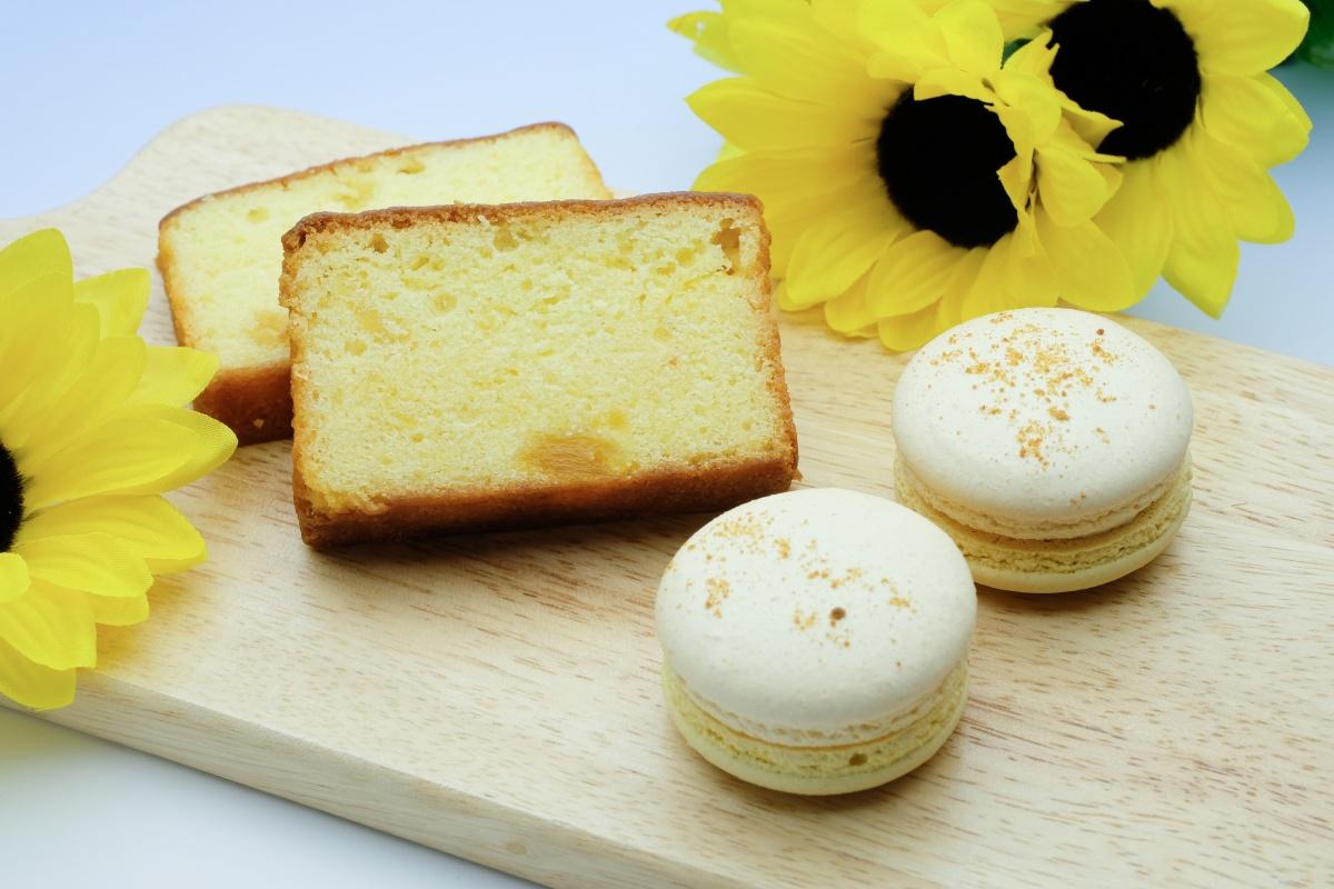 フランソワ夏の焼き菓子!マカロンレモンとパインのパウンド!