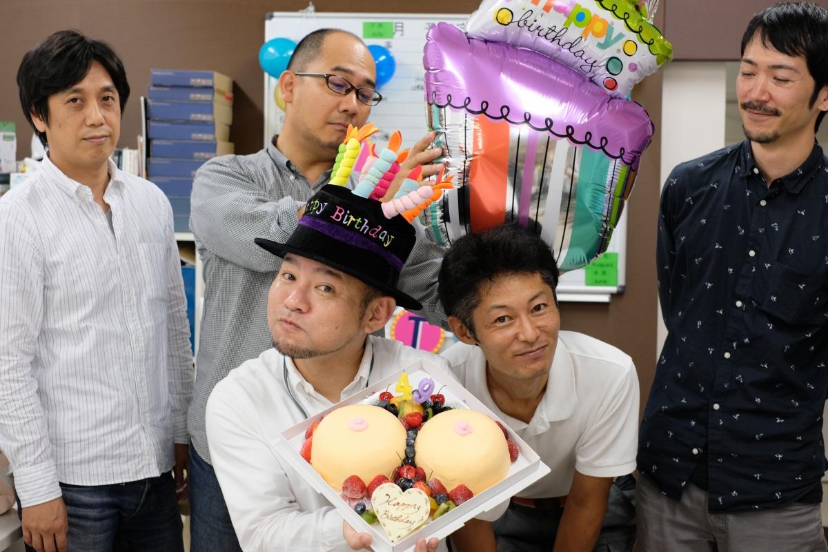 沢山の人たちに支えられて49歳の誕生日を迎えることが出来ました。今まで培ってきたデザインのヒキダシで繁盛店をどんどんつくります!