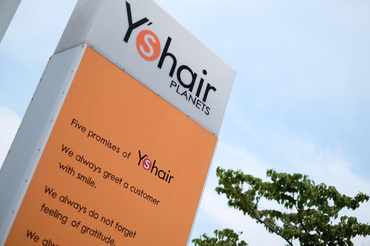 Y's hair PLANETS店!店舗名も変わって大リニューアル準備中!