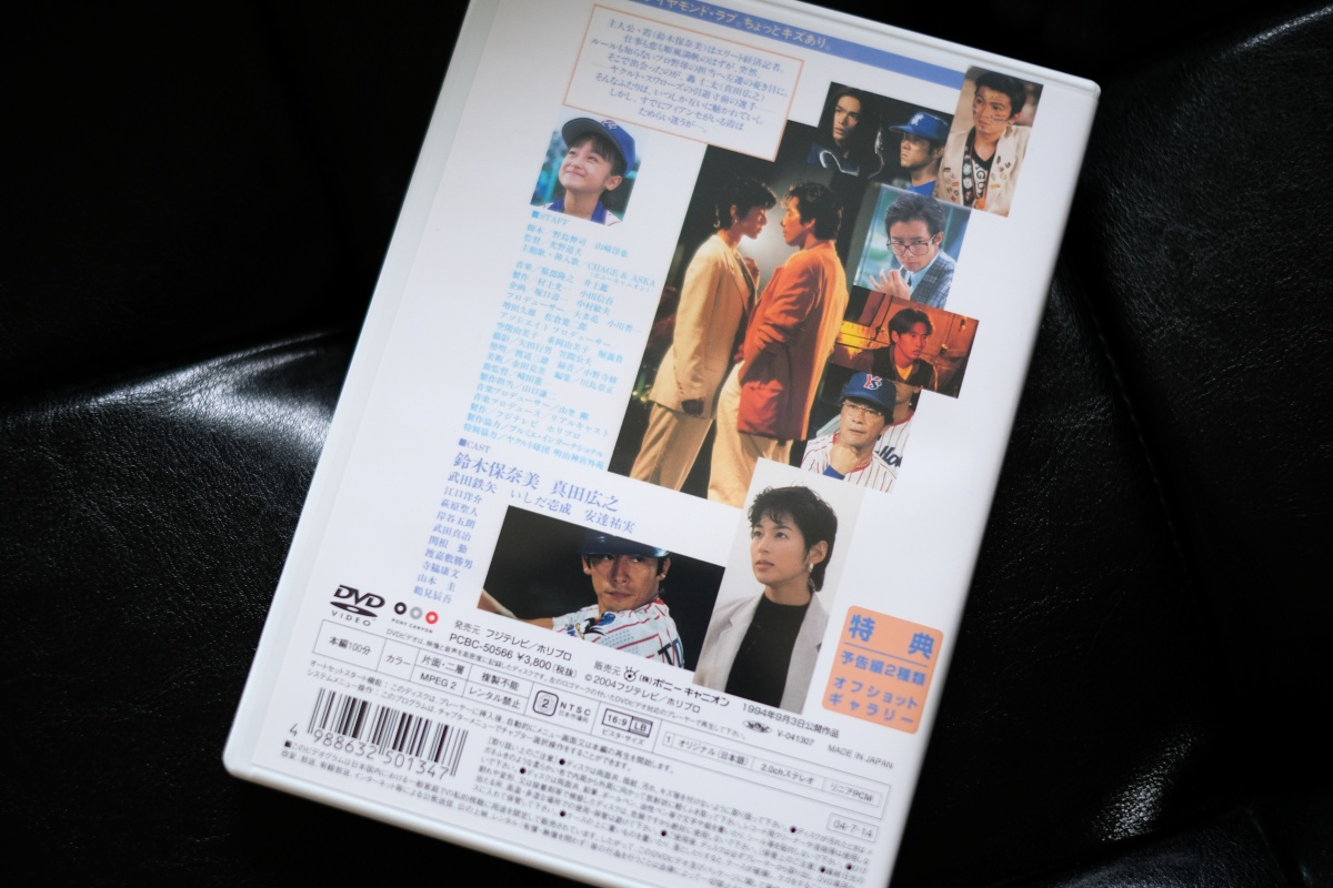 1994年9月3日公開!鈴木保奈美&真田広之主演映画「ヒーローインタビュー」は私のスラップ脱出奮起映画です!