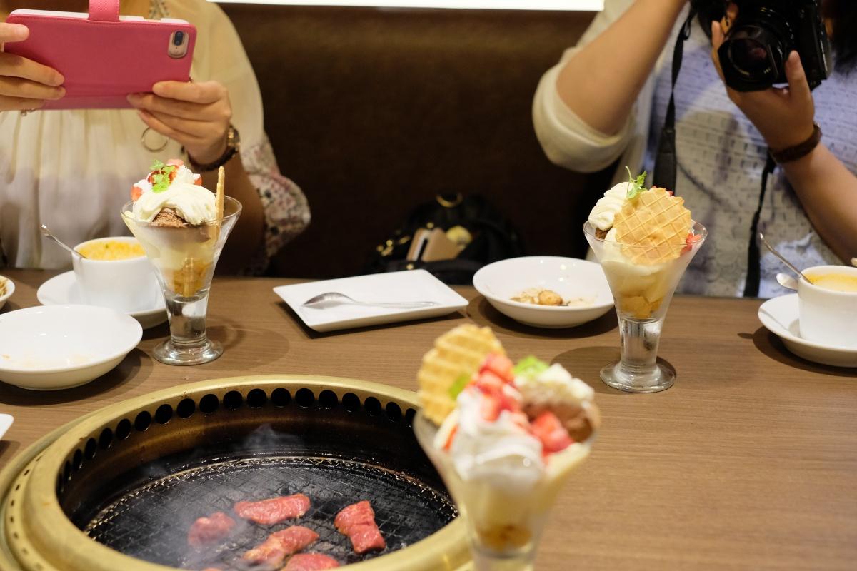 焼肉ダイニング ワンカルビ大手町店で恒例の女子会でストレス解消!