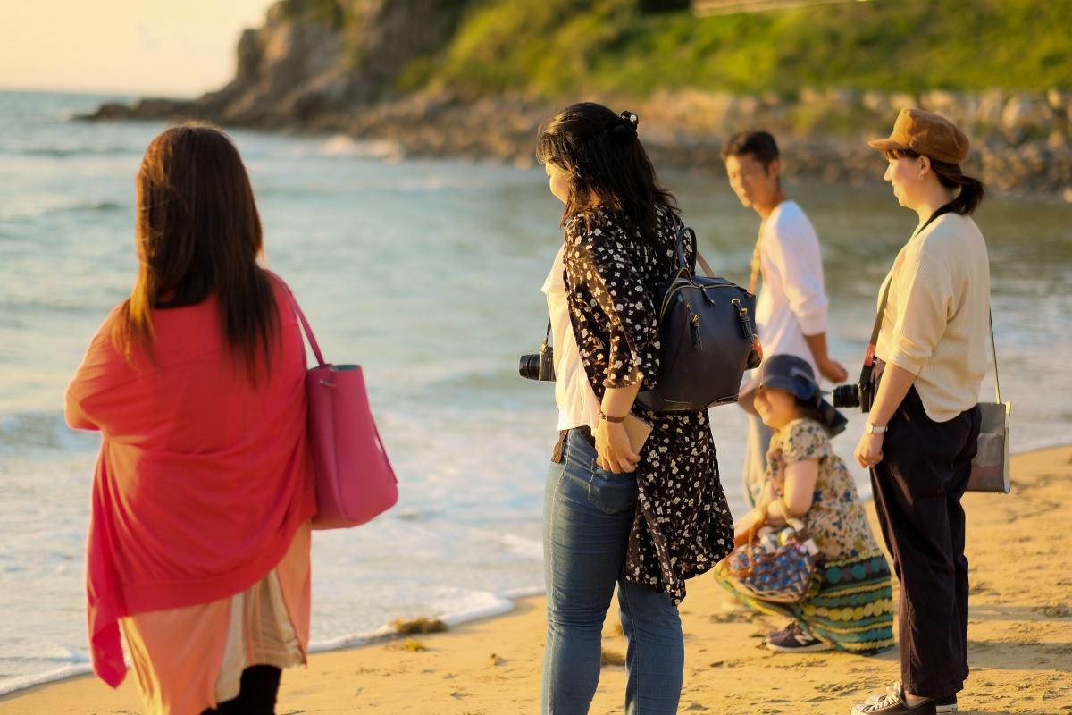 第一回 同じ釜のメシを食う「なかま旅・糸島編」Vol.3(二見ヶ浦 夫婦岩・PALM BEACH THE GARDENS・アルパチーノ)