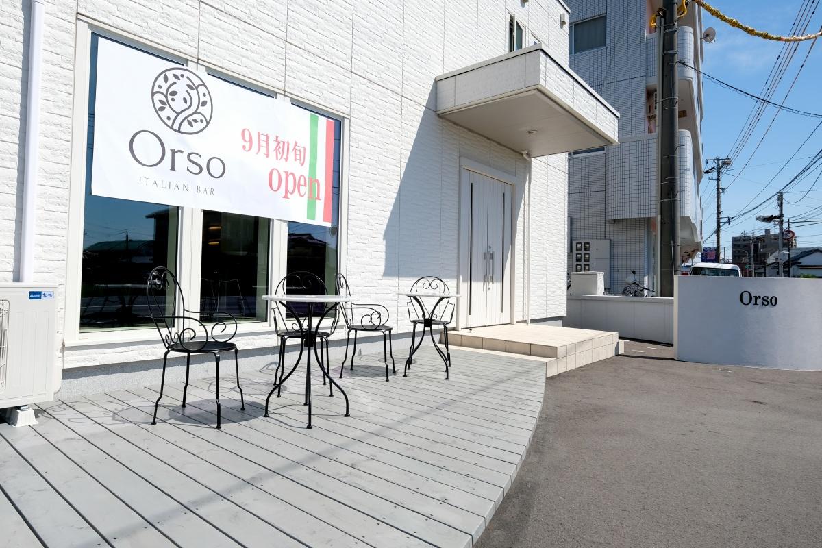 遂に9月初旬にオープンする「イタリアンバーOrso」のメニュー撮影のウラ側!
