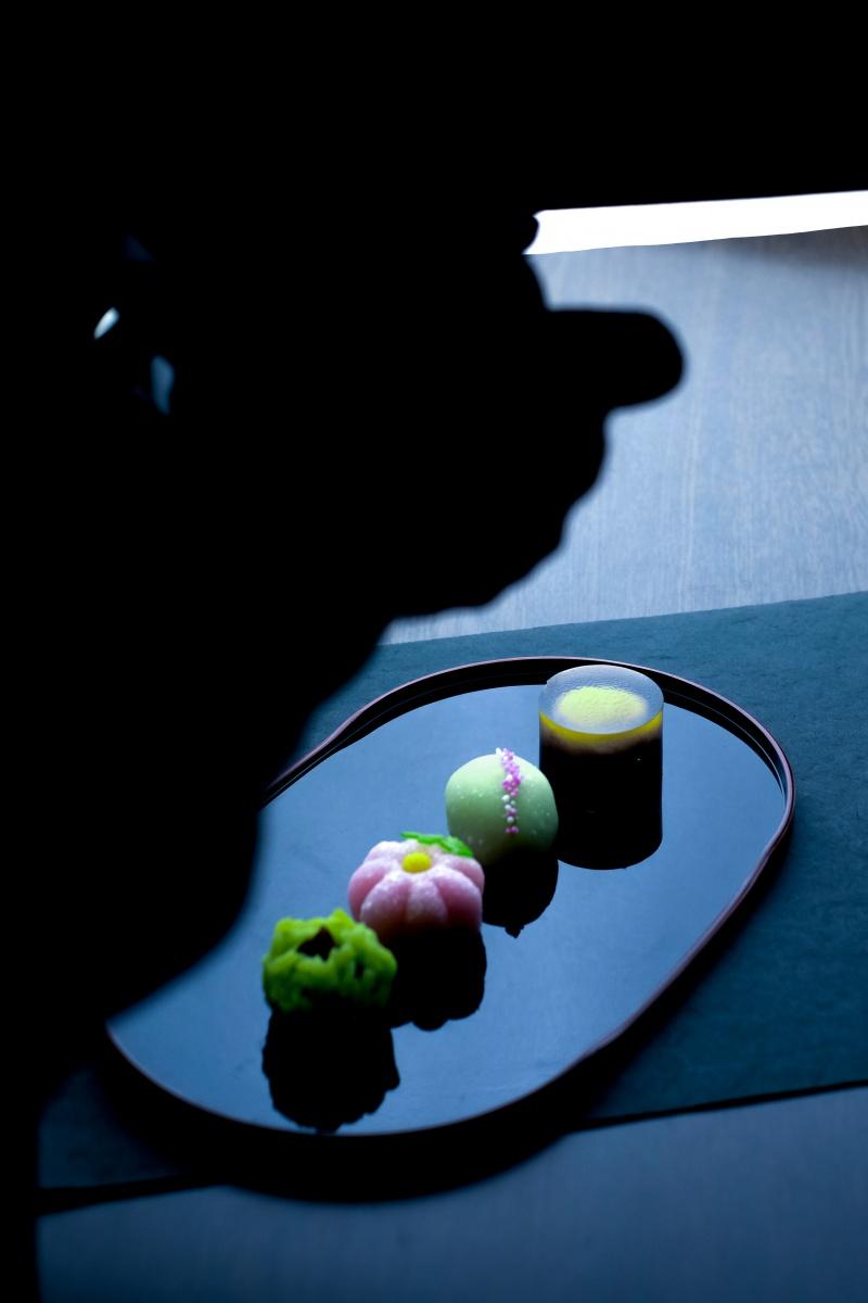 秋の夜はフランソワの和菓子をどうぞ