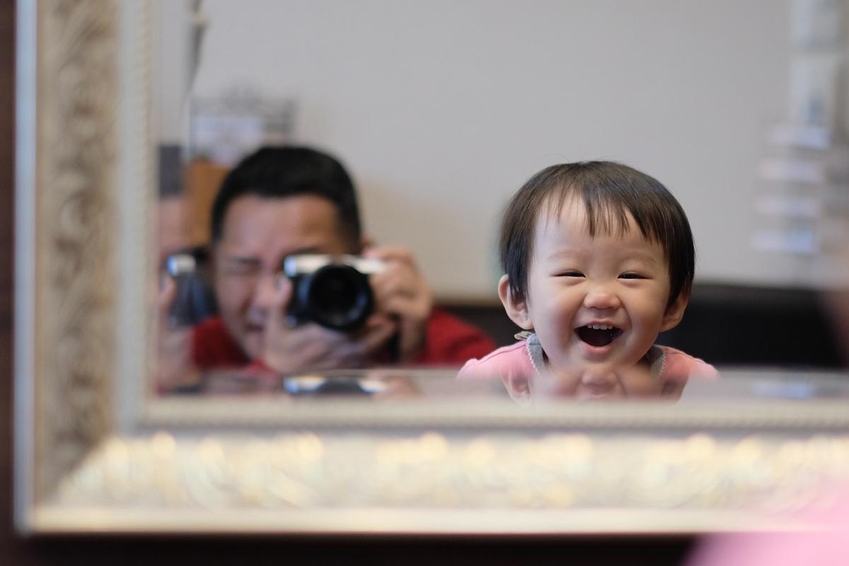 初めてのヘアーカットで姫ちゃん泣く...けど可愛い仕上がりに満面の笑み!