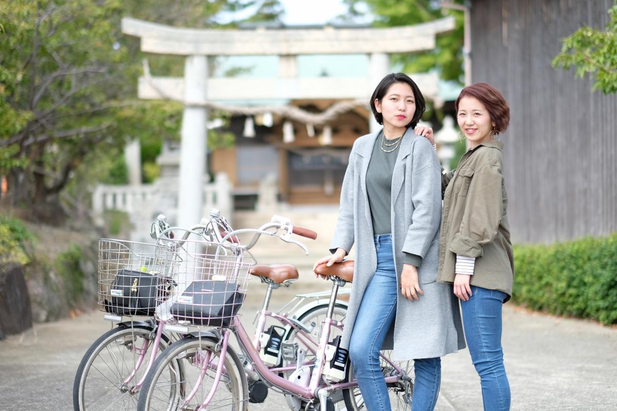 後編「しおかぜの里角島」いつもと違う角島を体験できるレンタルサイクル!ハードな牧崎コースは電動自転車がオススメ!
