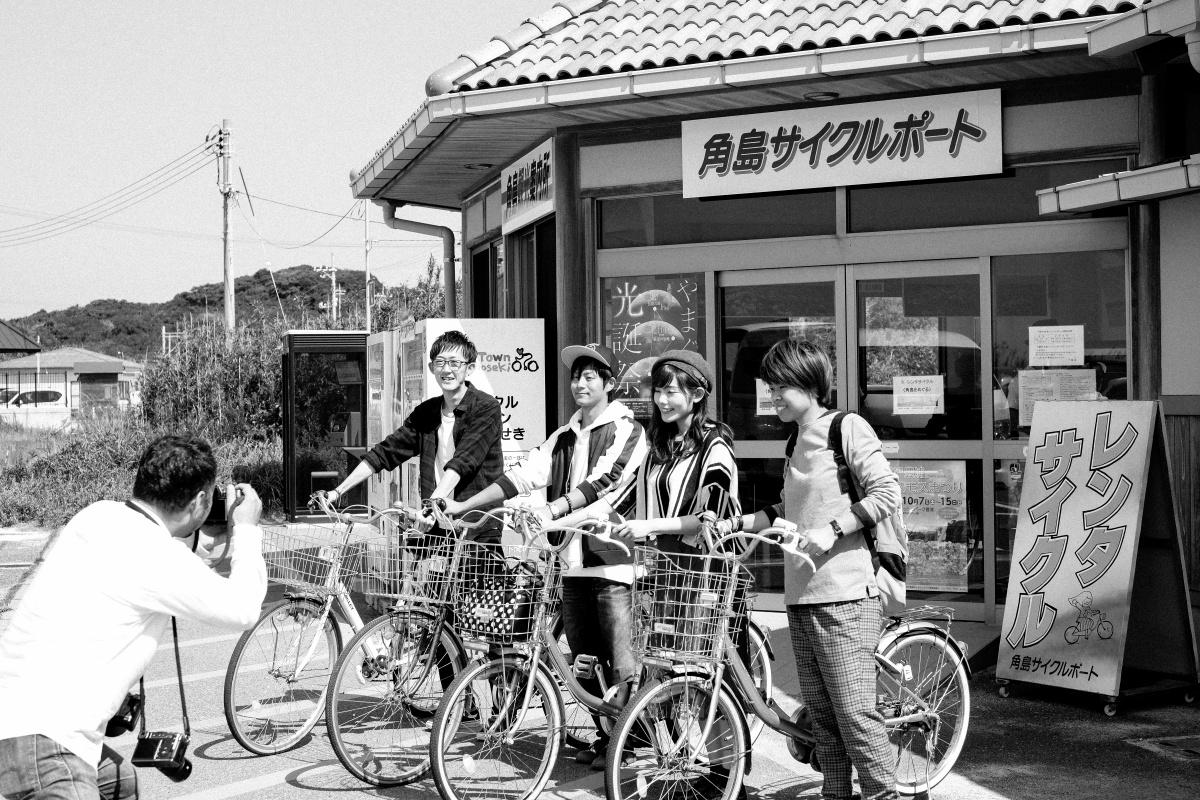 ホームページ撮影で久しぶりに行った「しおかぜの里」は料理も美味いし、サイクリングコースはカメラ女子には最高のコースだ!