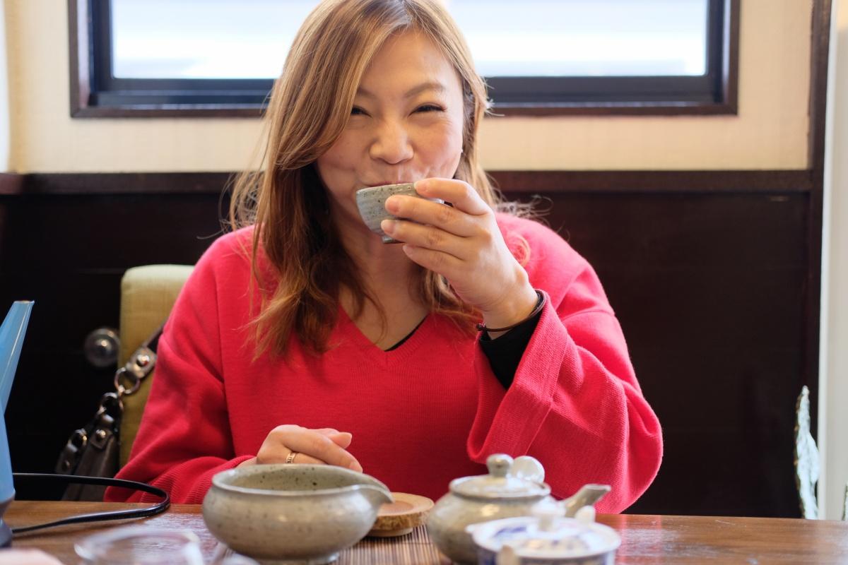 韓国つながりでカフェタイムは「CAFEホトリ」さんへ!山口県インバウンドサポートプロジェクト!