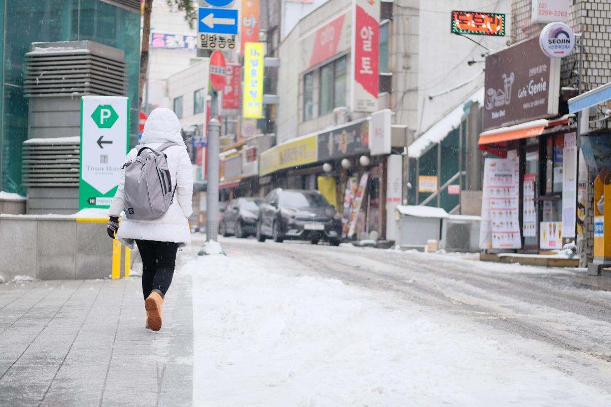 朝起きたら白銀の世界でびっくり「atafuta」アウトバウンド韓国編!最終日
