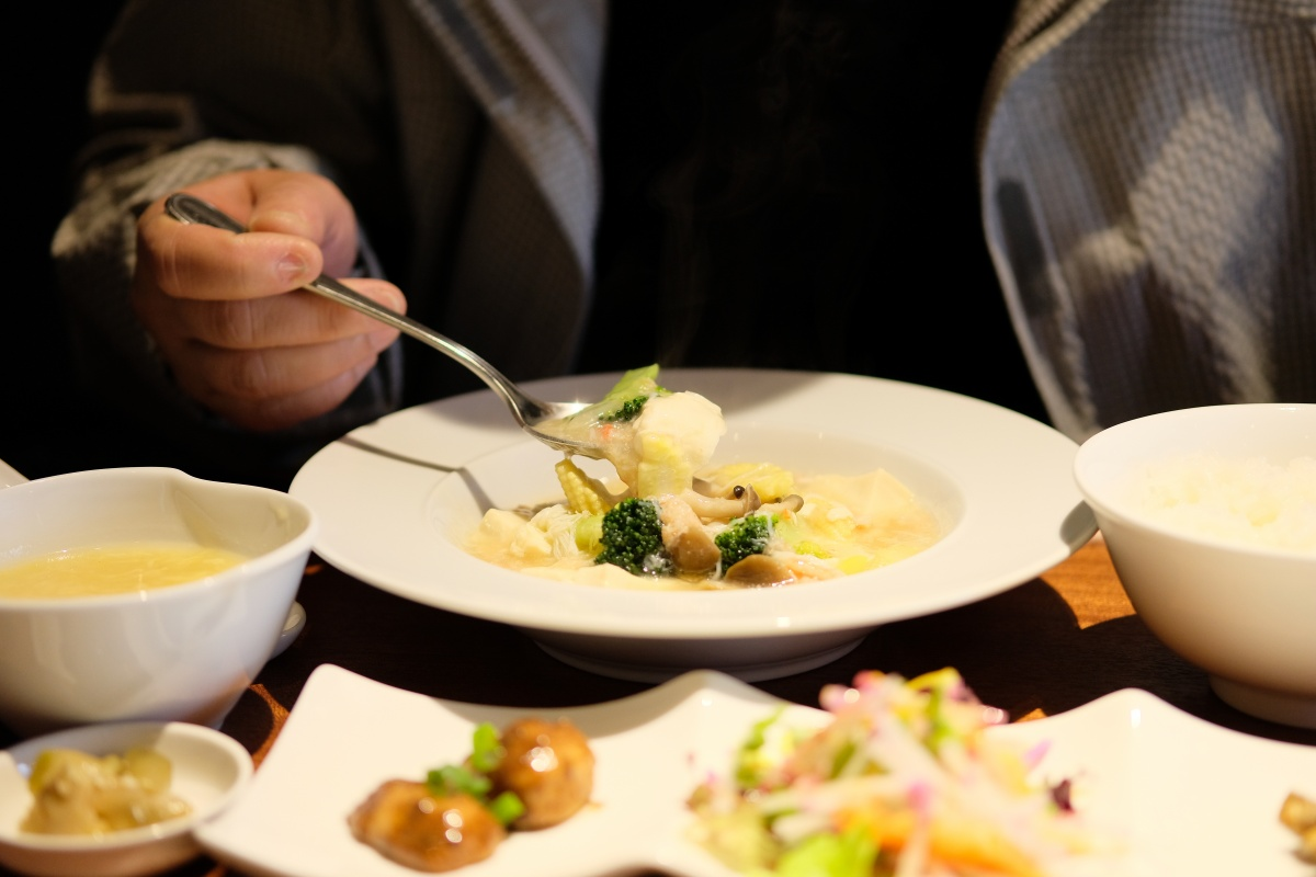 Facebookで見た限定10食「ズワイガニと豆腐の塩煮」チャイニーズキッチン貴ランチ!