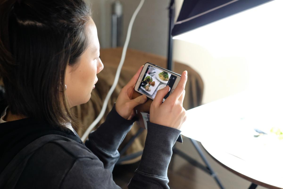 下関市綾羅木本町にある人気のITALIAN BAR Orso(イタリアンバール オルソ)で新メニュー撮影とスマホ教室!