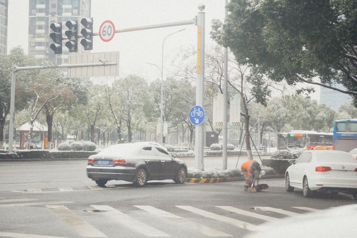 やってしまった!大失敗!上海には珍しい大雪で飛行機に乗り遅れてしまった!