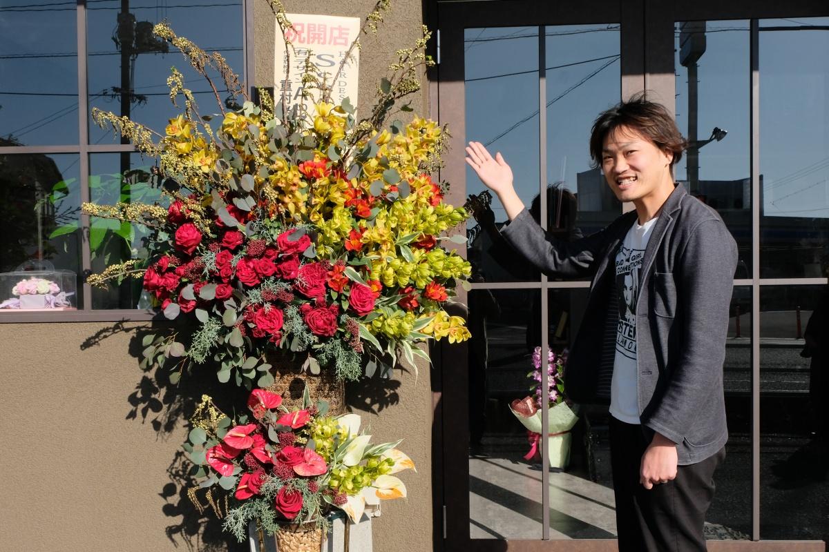 下関市綾羅木本町にオープンした「HAIR DESIGN Scelta」さん!おめでとうございます!
