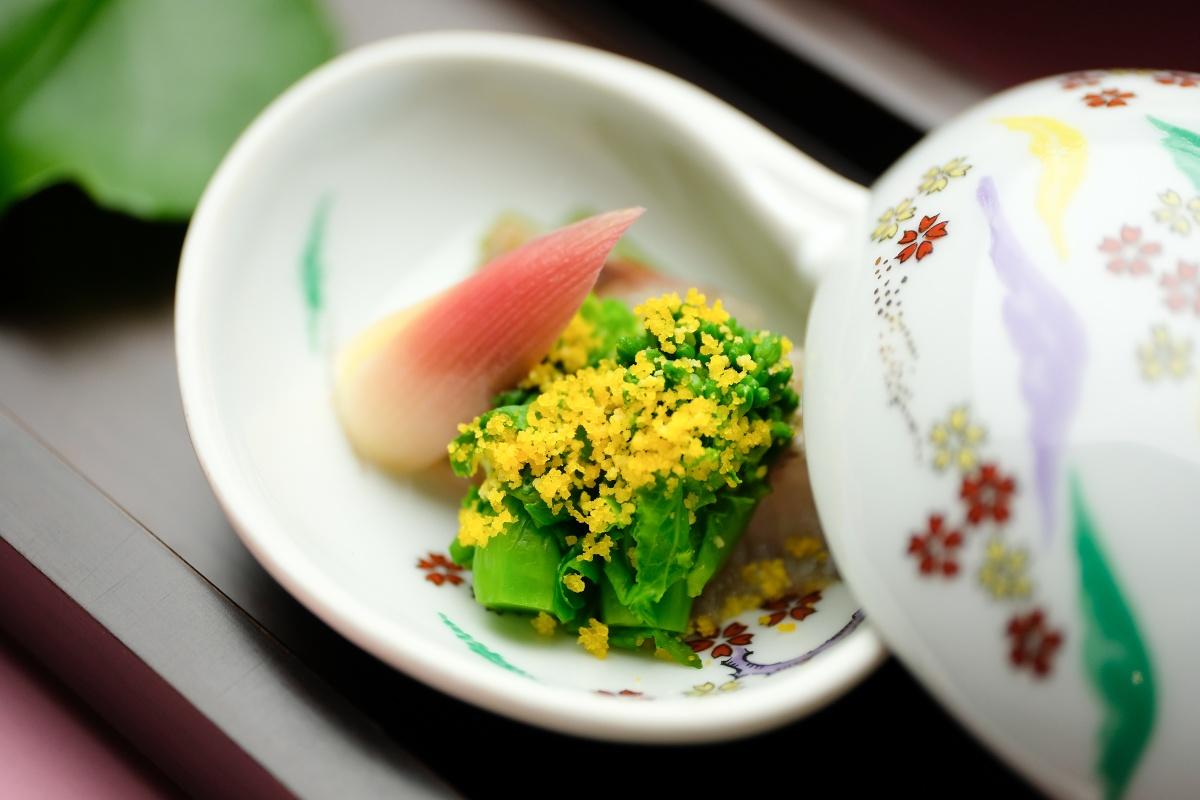 春限定コース「赤むつと車海老と春野菜の旬懐石」脂ののった新鮮な赤むつと、プリっプリの車海老、彩り豊かな春野菜を使った味わい深い懐石料理です!