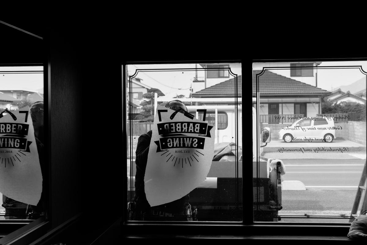 最終仕上がり工程に突入!防府市桑山2丁目にオープン「BARBER SWING」