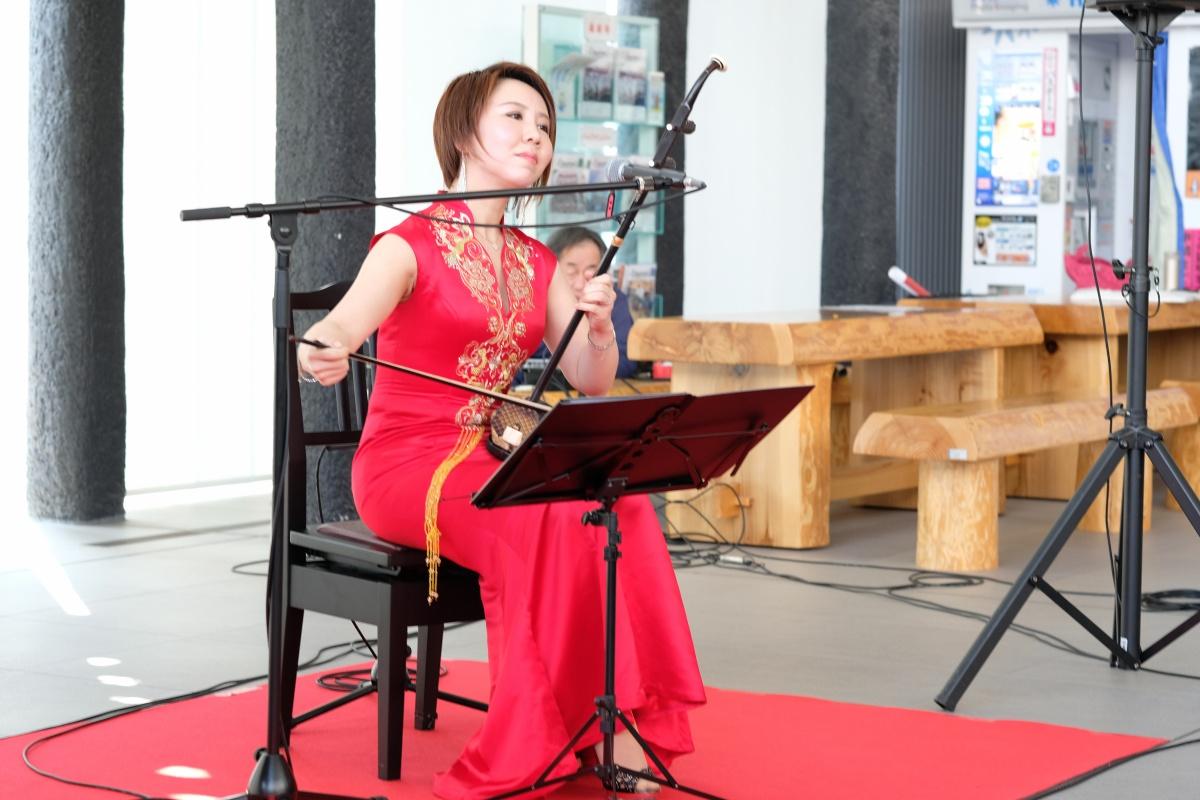 3月13日下関市役所本庁舎新館1階ロビーにて「王丹二胡コンサート」開催!