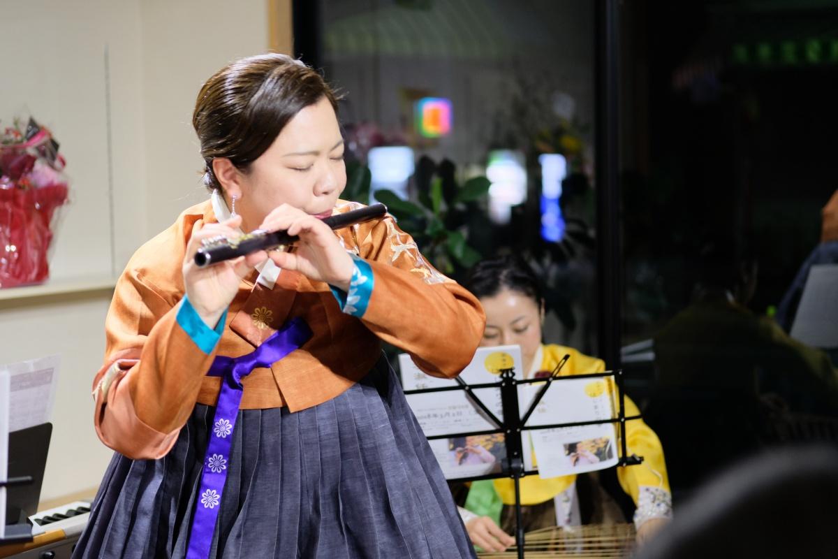 李淑任(リ・スギム)さん!高音チョッテミニコンサート「はじまりの音」
