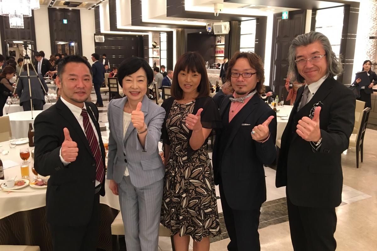 宇部市、山陽小野田市で5つの店舗を持つ「Y's hair group」株式会社ジーマエンタープライズさんの入社式及び決起大会に参加させて頂きました!