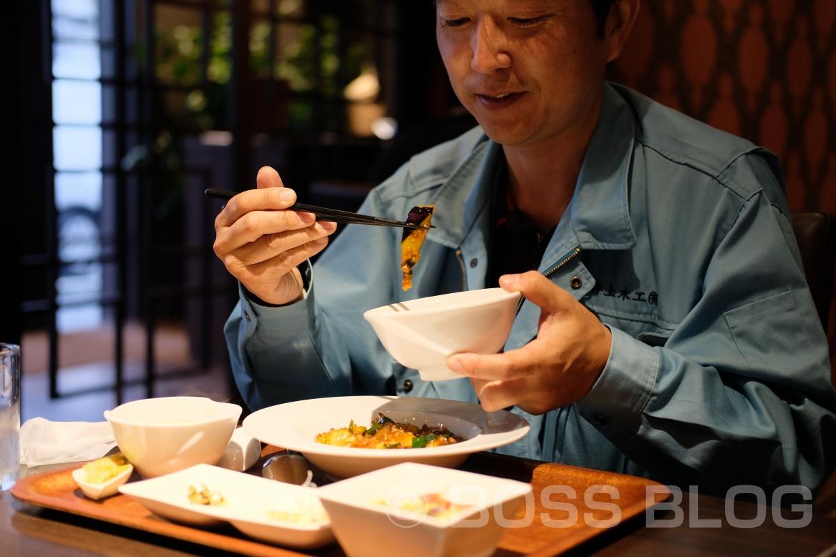 SSSスポーツプラザ吉敷店の引渡も無事に終わり、湯田温泉で人気のチャイニーズキッチン貴でランチ!