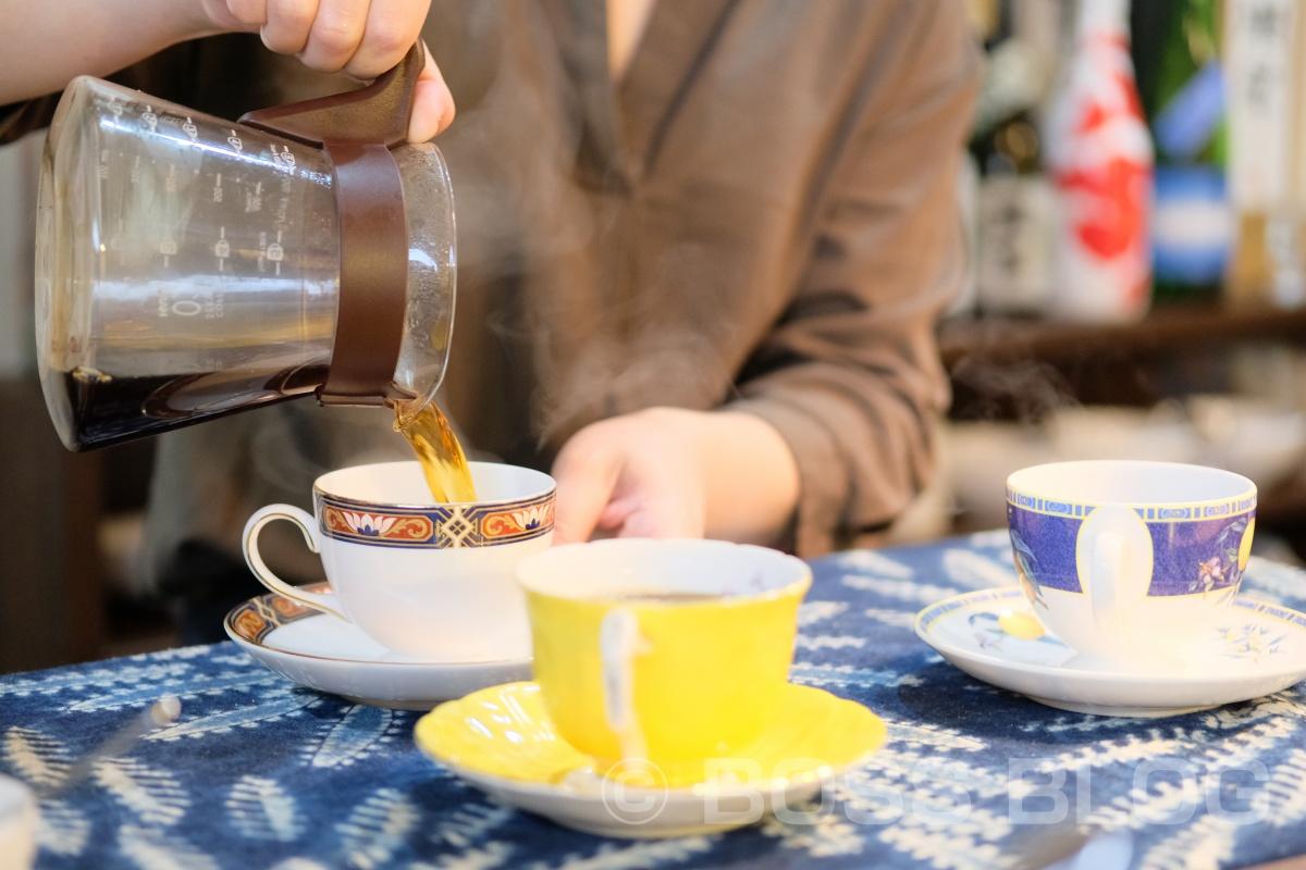 新プロジェクトで実測した後は、CAFE BARK(カフェ・バーク)でコーヒーマイスターこだわりの珈琲ゼリーを!