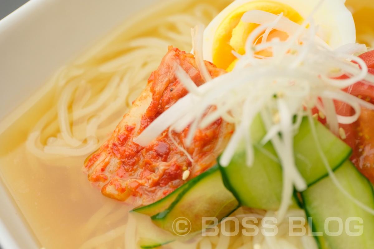 焼肉だんくの夏オススメ麺!さっぱりあっさり、焼肉の〆にもぴったりな盛岡冷麺と自家製うま辛味噌のピビン麺!