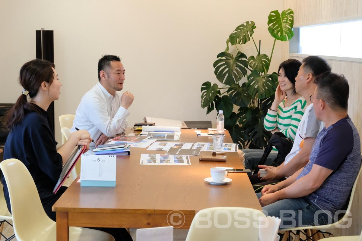 山口県インバウンドプロジェクト「atafuta」の打ち合わせで韓国の旅行会社から安さんと孫社長としの武さんで凄い企画の旅行ツアー考案中