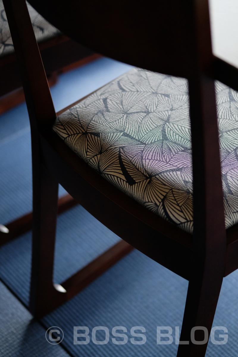 AKAMA 布久亭への椅子テーブル搬入
