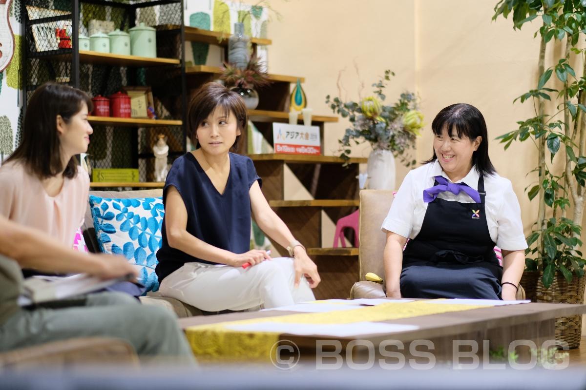 野菜ソムリエ上級プロさつきさんが出演!ちぐスマのウラ側ちょこっとお見せしちゃいます!