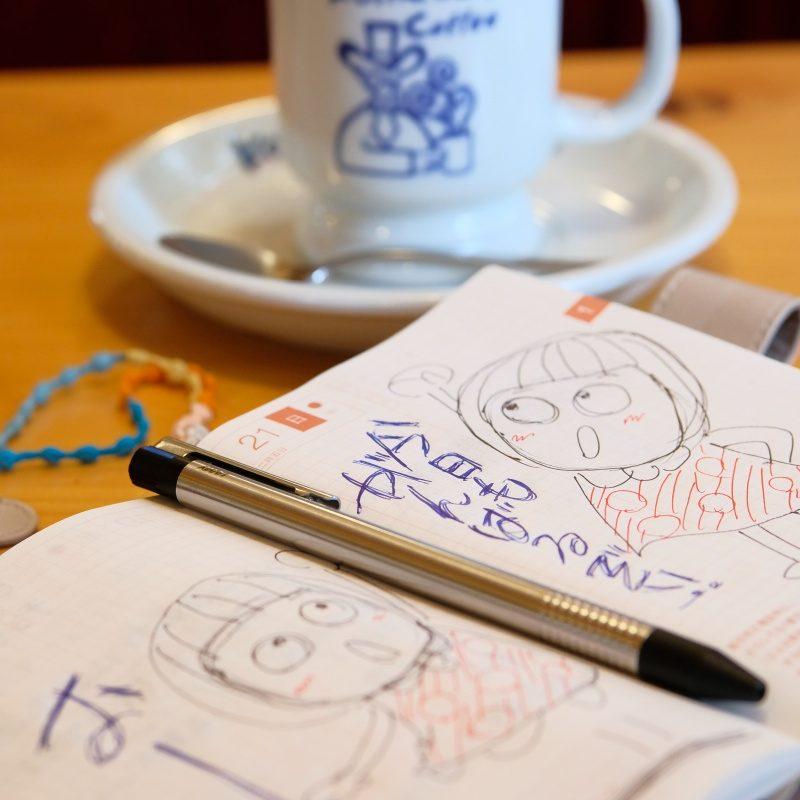 毎朝コメダ珈琲によってモーニングAを食べながら色んなコトを考える時間が大切
