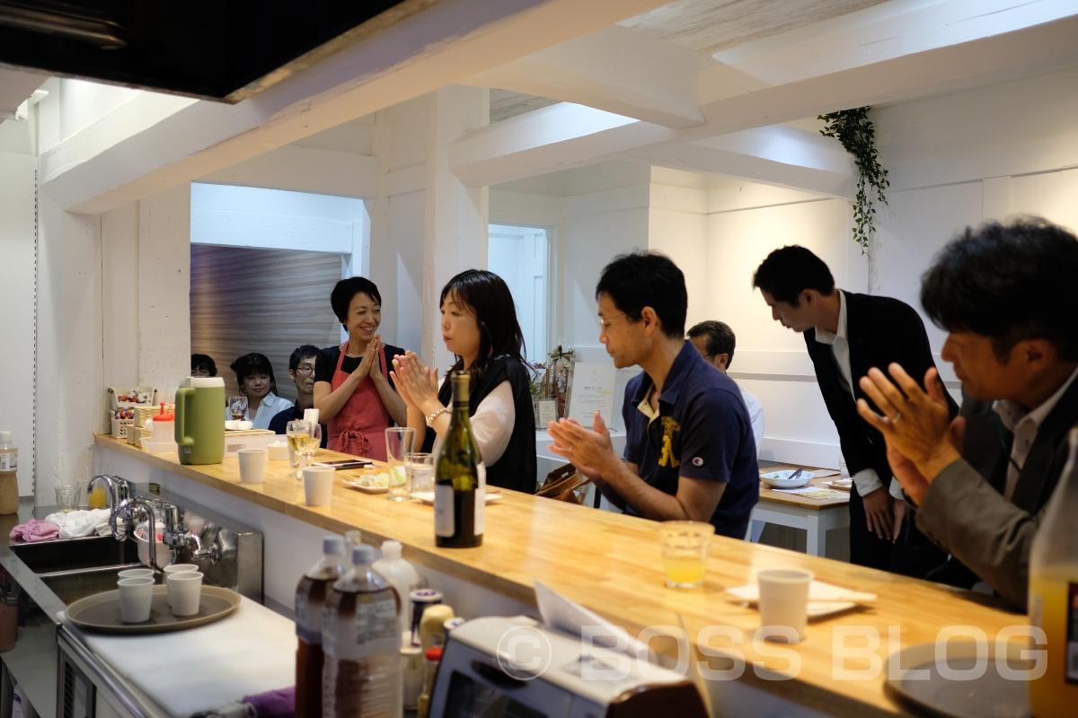 今夜はさつきカフェのオープン前夜祭り!素敵なゲストが集まってのレセプション